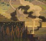 668px-Mikalojus_Konstantinas_Ciurlionis_-_OFFERING_-_1909